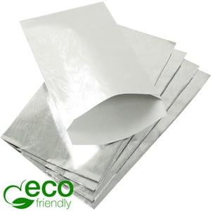 Sieradenzakjes klein ECO, 500 st. Zilverkleurig papier 90 x 150 76 gsm