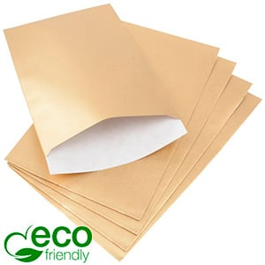 500 Paper Jewellery Bags, Large Gold Shadow Stripe Paper 120 x 180 80 gsm