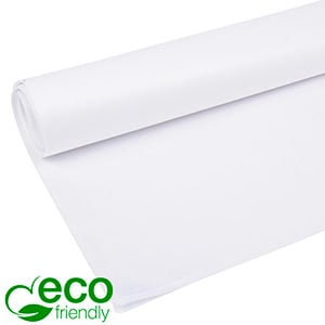 Milieuvriendelijk Zijdevloeipapier, 480 vellen Wit 700 x 500 17 gsm