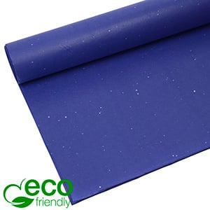 Eco-Friendly Tissue paper, 240 sheets Glitter, Dark blue 700 x 500 17 gsm