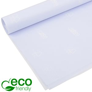 Eco-Friendly Tissue paper, 480 sheets White with FSC®-mark and Westpack's ECO brand 700 x 500 17 gsm