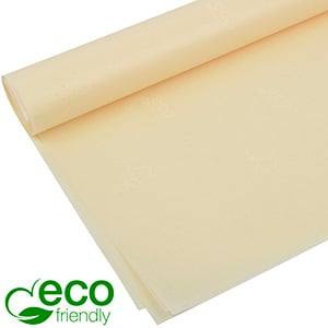 Eco-Friendly Tissue paper, 480 sheets Cream with FSC®-mark and Westpack's ECO brand 700 x 500 17 gsm